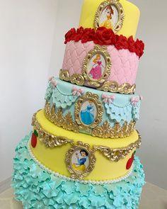 Disney Princess 6 Cake Toppers Partido azúcar glas forma de corazón Diy img D Nuevo ***
