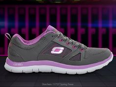 Women's Skechers Flex Appeal Running Shoes. Put a spring in your stride with the Skechers Flex Appeal - Spring Fever running shoes! With a cushioning Memory Foam insole, lightweight Flex Appeal midsole and stabilizing design, these athletic shoes are perfect for anything from every day wear to intense workouts.