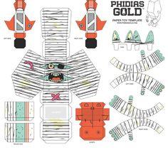 Quand on vous disait que le Phidias Gold Paper Toy Show avait donné naissance à une collection de paper toys incroyables, on n'exagérais rien. Pour preuve, voici regroupées les 30 contributions des artistes ayant participé au projet… Pour rappel, nousLire la suitePHIDIAS GOLD Paper Toys