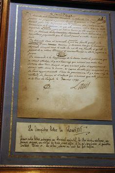 Louis XVI's last letter