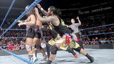 American Alpha vs. The Usos – SmackDown Tag Team Turnier Match: Fotos