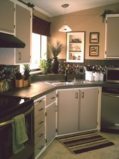 Budget Kitchen Makeover- Mobile Home  700 dollars DIY -wow inspiring