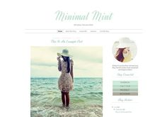 Fashion Blogger Template  Simple Clean Modern Blog by TheBlogShop Blogger Templates, Blog Design, Infographic, About Me Blog, Etsy, Vintage, Trending Outfits, Simple, Modern