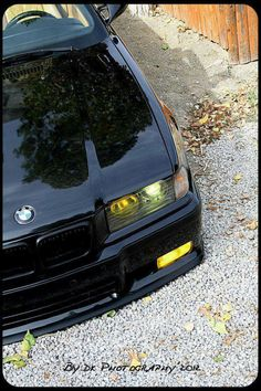 Black and yellow, black and yellow.. Bmw e36 black