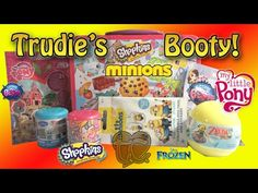 Minions My Little Pony Littlest Pet Shop Frozen and a Shopkins Lunch Tin Toy Haul! - YouTube