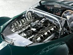 The Jaguar It was initially created as a racer for Le Mans in 1966 by aerodynamicist Malcolm Sayer, C-Type, D-Type and E-Type Jaguars. Cars Vintage, Vintage Racing, Ford Motor Company, Le Mans, Concept Cars, Jaguar Xjr, Jaguar Daimler, Supercars, Automobile