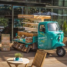 Ideas Food Truck Design Piaggio Ape For 2019 Coffee Truck, Coffee Carts, Coffee Shop, Food Trucks, Mobile Cafe, Mobile Shop, Cafe Bar, Farm Cafe, Cafe Design