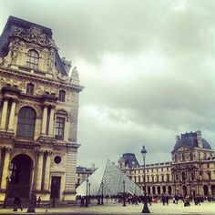 The Louvre, Paris France. Day one of our two week college trip through Europe. Plane landed at 6am, we were sitting in a cafe just outside this museum drinking coffee at 11am. This place is amazing! There is no way, even if you spend all day here, that you can see everything. Our Professor had been four times before this and we still discovered new rooms she hadn't seen before.