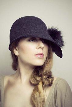 66b9db172bc ADAPTATION  millinery by Maggie Mowbray Felt Hat