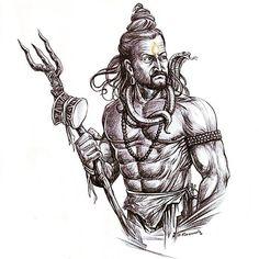 Lord Shiva is the ruling deity of Cathurdashi, is the god of destruction Lord Ganesha Paintings, Lord Shiva Painting, Mahakal Shiva, Shiva Art, Krishna, Mahadev Tattoo, Shiva Sketch, Shiva Tattoo Design, Lord Shiva Hd Wallpaper