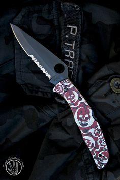 CustomSpyderco Endura Ti - Gears of War - Usual Suspect Forums