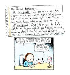 Enriqueta & Fellini by Liniers