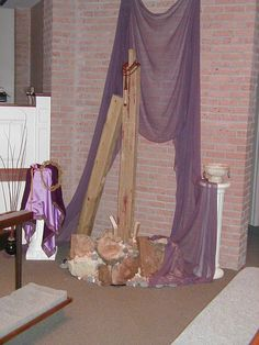 Progressive Lenten Side Altar #2
