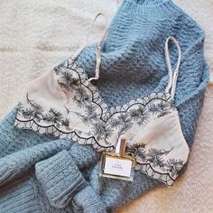 is there any pairing so perfect as a bralette & a sweater?