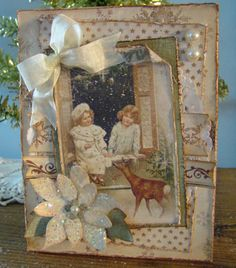 Vintage Christmas Cards at Remember This www.rememberthisrememberthat.com