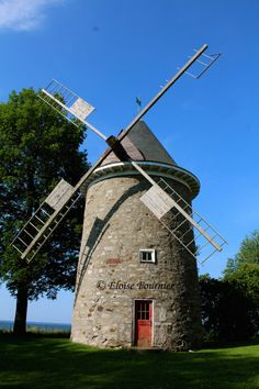 Antique Windmill Pointe-Claire, QC August 2015