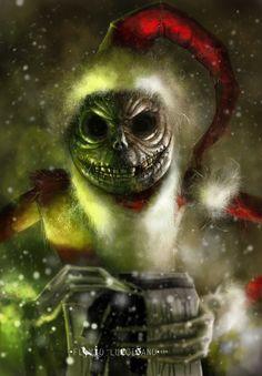 Jack Skellington (Christmas costume) by flavioluccisano.deviantart.com on @DeviantArt