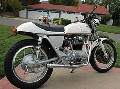 Yamaha XS650 cafe conversion