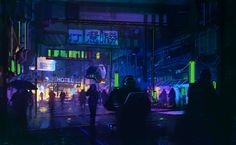 ArtStation - Brussels 2079, Duncan Halleck