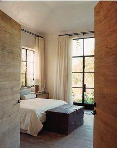 Home Bedroom, Bedroom Decor, Light Bedroom, Bedroom Ideas, Bedroom Rustic, Master Bedrooms, Bedroom Apartment, Home Interior, Interior Design