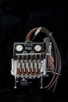 "If Valentine's Day causes your heart to skip a few beats, here's a machine that can help with that.   ""The Mechanical Heart"" also known as the Michigan Heart had the ability to bypass both the patient's heart and lungs allowing surgeons a ""dry"" field on which to work."