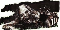 """The Walking Dead"" By F.Colafella"