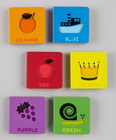 Take a look at this Pantone: Box of Color Board Book Set by Born to Read: Infant Books on @zulily today!