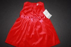Carter's Infant Girl Size 6Mo Red Dress With Bloomers Valentines Pageant Wedding #Carters #Dressy #Everyday #Holiday #fashion #style #wedding #flowergirl #infant #baby