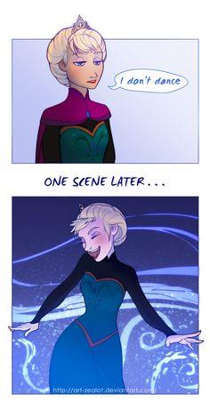 Hahaha ELSA!