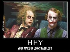 Hey your makeup looks awesome