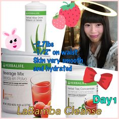 #Day1 #LaBamba #Cleanse! Wow! What an #awesome result!! can't believe I lost over 2lbs without exercise or starving myself! First time ever after I moved to Canada I feel my body is fully #hydrated!! Thanks to #Herbalife! #Skin got #better just after 1 day! #WOW