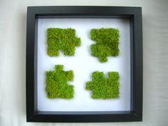 Tableau Végétal Puzzle par PhytoDeco sur Etsy, €39.00