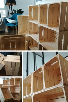86 idees de caisse en bois caisse