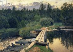 At the Shallow, 1892 (oil on canvas)