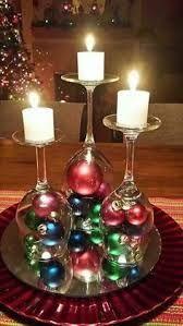 Resultado de imagen para arreglos navideños en copas