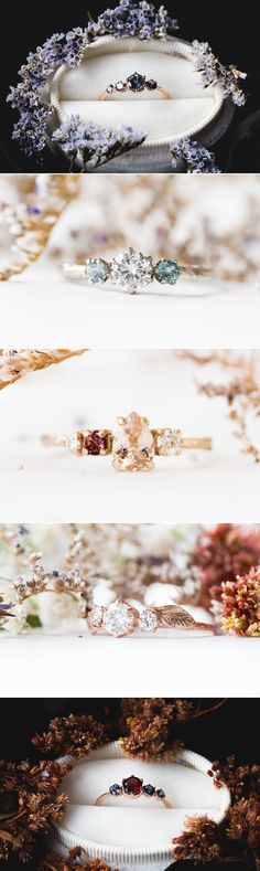 28 Bespoke Natural Engagement Rings You Must See!