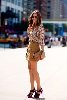 Olivia Palermo. She is my style icon hands down. She puts together the most amazing outfits. LOVE!