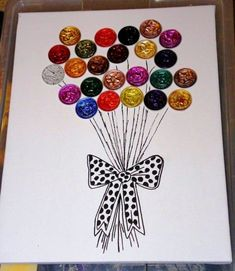 Can Tab Crafts, Hobbies And Crafts, Diy And Crafts, Crafts For Kids, Diy Bottle Cap Crafts, Cappuccino Machine, Quilling Craft, Art N Craft, Homemade Cards