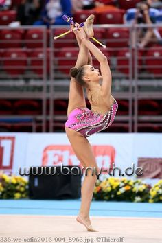 Dina AVERINA (Russia)🇷🇺 ~ Clubs @ WC Sofia-Bulgaria 2016🇧🇬 😘😘 Photographer  ✍Bernd Thierolf.