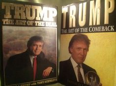 DONALD TRUMP NOVEL COLLECTION SIGNED 1st Ed. LOT : Lot 112