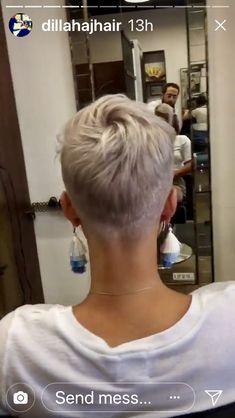 #hairdare #womenshair #beauty #hairstyles #shorthair #pixie Super Short Hair, Edgy Short Hair, Short Hair Styles, Short Hair Cuts For Women, Shaved Hair, Short Sassy Haircuts, Hair 2018, Great Hair, Hair Looks