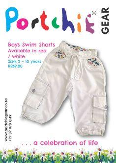Boys #cargoshorts by #portchiegear - www.portchiegear.co.za