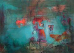 IPLIKLER by Deniz Hasenoehrl 2013 acryl on canvas 100x140 cm