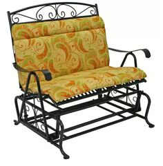 San Bruno Iron Porch Glider - Double at www.dcgstores.com - Sales $284.00