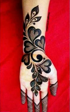 Henna Tattoo Designs Simple, Rose Mehndi Designs, Latest Bridal Mehndi Designs, Full Hand Mehndi Designs, Henna Art Designs, Stylish Mehndi Designs, Mehndi Designs 2018, Mehndi Designs For Beginners, Mehndi Designs For Girls