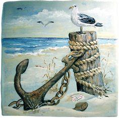 beach scene- vagabond artist