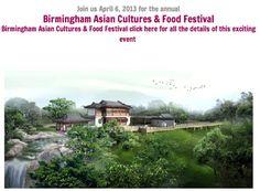 Alabama Asian Cultures Foundation Food Festival April 6