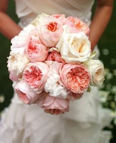 bouquets, light pink, rose, white, Spring, blush, bouquet, colors, coral, floral, florals, flower, flowers, peach, pink