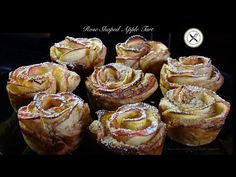 Rose-Shaped Apple Tart – Bruno Albouze – THE REAL DEAL - YouTube