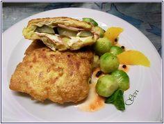 Lecker mit Geri: Kartoffel Cordon Bleu mit Orangen-Pfeffer-Soße - Картофени шницели с портокалов сос и черен пипер